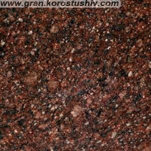 Токовский гранит (коричневый) памятники фото