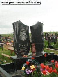 Подвійний пам'ятник з граніту ДМ-021