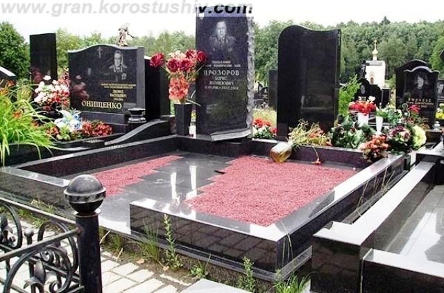 пам'ятник на кладовище, із граніту, київ, ціна, купити, замовити, україна, коростышев
