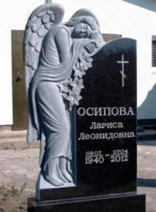 Пам'ятники з ангелом з граніту в Києві