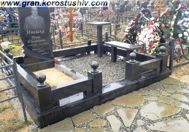 Надмогильні пам'ятники з граніту в Києві
