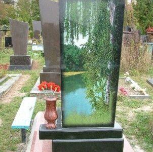Цена цветного памятника на могилу