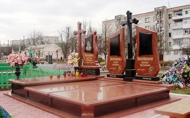 гранітні пам'ятники VIP
