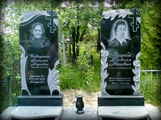 купить двойной памятник на могилу