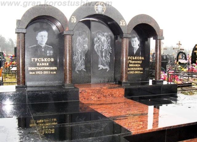 элитные мемориальные комплексы из гранита