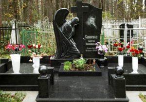 элитные памятники на кладбище