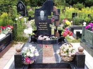 благоустройство могил Киев под ключ