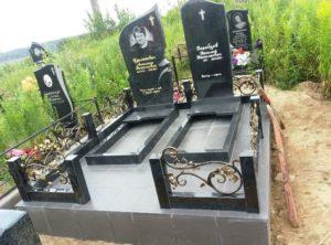 благоустройство могил под ключ