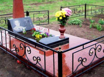Оформление могилы под ключ!