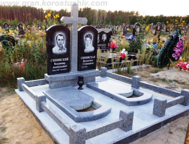 памятник на могилу под ключ в Киеве