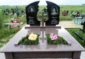 заказать памятник на кладбище цены