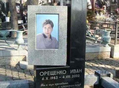 Памятники с цветным фото под стеклом Киев
