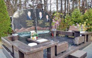 пам'ятник на двох фотокераміка Коростишів київ Україна фото ціна gfvznybr yf ldj[ ajnjrthfvsrf
