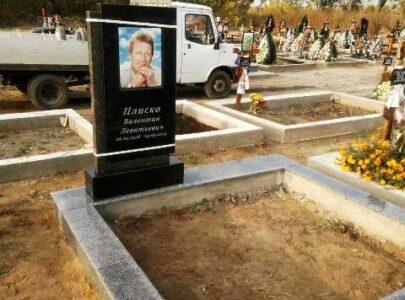Кольорові пам'ятники на могилу фото і ціни