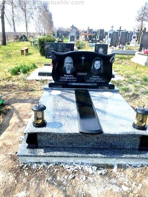 кольоровий пам'ятник на могилу ціна Коростишів київ Україна фото rjkmjhjdbq gfvznybr yf vjubke wsyf