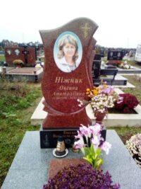 кольоровий портрет на пам'ятнику з граніту Коростишів київ Україна фото ціна rjkmjhjdbq gjhnhtn yf gfvznybre p uhfysne