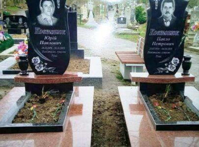 Надгробні пам'ятники з кольорового граніту
