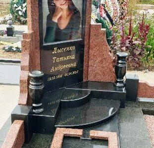 Пам'ятники на могилу з кольоровою фотографією