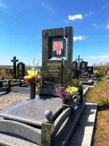 пам'ятники з кольоровою фотографією на граніті Коростишів київ Україна фото ціна