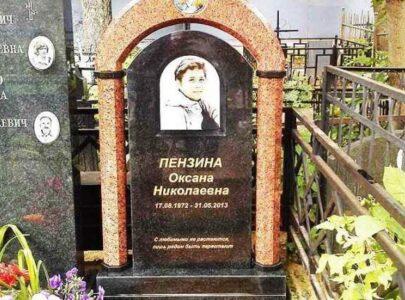 Памятник на могилу кольорове фото