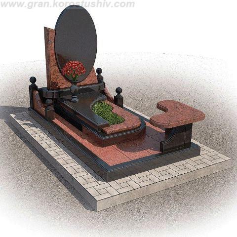 замовити гранітні комплекси на могилу Коростишів київ Україна фото ціна
