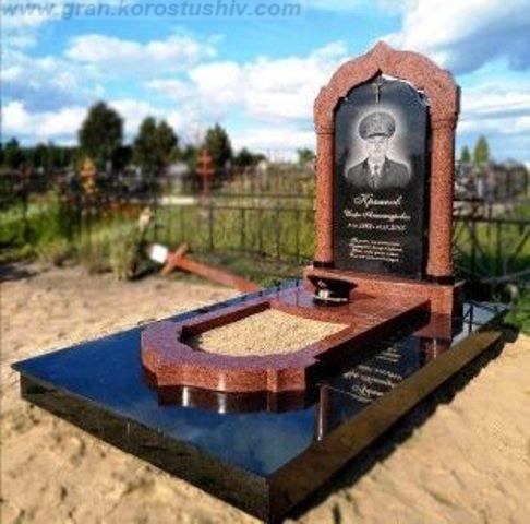 замовити меморіальні комплекси на кладовищі Коростишів київ Україна фото ціна