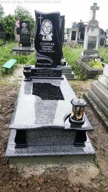 могильні комплекси з граніту Коростишів київ Україна фото ціна